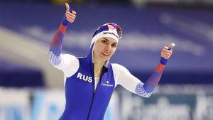 Российская конькобежка Голикова стала чемпионкой мира на дистанции 500 м