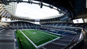 Стадион «Тоттенхэма» переделали для проведения матча по американскому футболу: видео