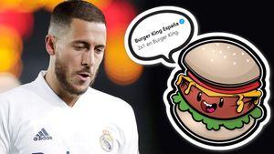 Игрок за 160 млн евро стал посмешищем в «Реале». Сейчас над Азаром смеется даже «Бургер Кинг»