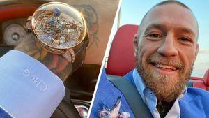 Макгрегор показал новые часы с бриллиантами. Их стоимость — миллион долларов