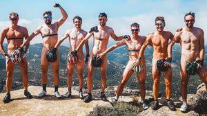 Швейцарские биатлонисты провели презентацию команды топлес. Губерниев ждет подобного отрусских