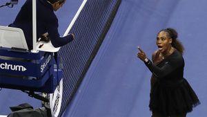 Серена Уильямс обозвала арбитра, заслужила свист трибун. Про великую американку сняли фильм