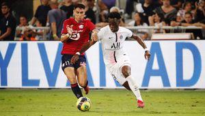 «Лилль» обыграл «ПСЖ» в матче за Суперкубок Франции, прервав гегемонию парижан из 8 титулов подряд