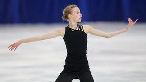 Ученица Тутберидзе Хромых стала самой юной участницей юниорского чемпионата мира