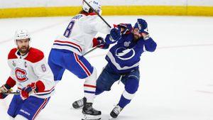 На русскую звезду устроили охоту в Америке. Кучерова лупили весь первый матч финала НХЛ— по ногам, рукам и ребрам