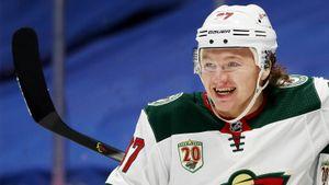 Сайт НХЛ включил Капризова и Шестеркина в список претендентов на Колдер Трофи