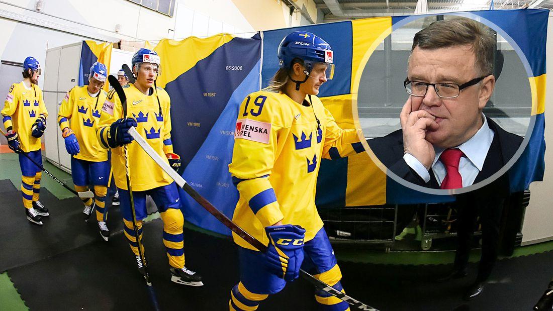 Чтобы победить Россию, все шведы должны сыграть свой лучший матч. Захаркин - об игре Тре Крунур на ЧМ