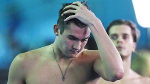 Русский вундеркинд Колесников остался без золота ЧМ. На старте заплыва у него соскочила нога
