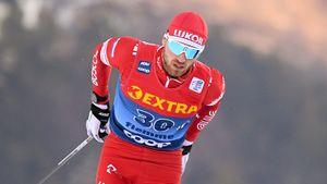 Мальцев в отсутствие Большунова выиграл гонку с раздельным стартом на чемпионате России по лыжным гонкам