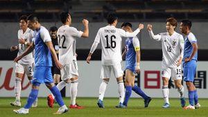 Япония разгромила Монголию 14:0 в квалификации ЧМ-2022
