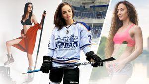 Школьная подруга Капризова, жена чемпиона мира Белова и другие красавицы Ночной хоккейной лиги: фото