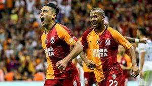 Фалькао божит в «Галатасарае»: забил в первом матче и мощно отпраздновал с фанатами