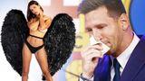 Модель Playboy охотится за салфеткой со слезами Месси: предложила $600 тысяч и хочет сфотографироваться с ней голой