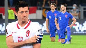 Польские фанаты освистали игроков сборной Англии во время преклонения колена. Левандовски указал на нашивку Respect
