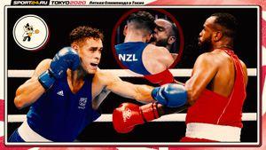 Людоедство на Олимпиаде. Боксер из Марокко пытался откусить ухо сопернику из Новой Зеландии в стиле Майка Тайсона