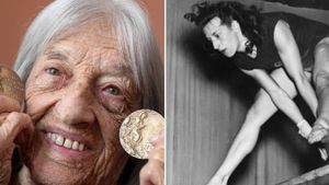 Самая старая из ныне живущих олимпийских чемпионов. Венгерской гимнастке Келети исполнилось 100 лет: фото, видео