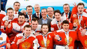 Россию били, Россия заставила соперника рыдать. Фото золотого хоккейного финала Универсиады