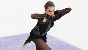 Валиева чисто сделала 2 четверных и выиграла Кубок России. Но Тутберидзе отчитала ее за ошибку на лутце