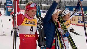Русская лыжница Сорина внезапно стала второй по итогам 1-го этапа Кубка мира. Сильнее только великая Йохауг