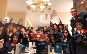 Дзюба отпраздновал Рождество вобразе Гарри Поттера: фото