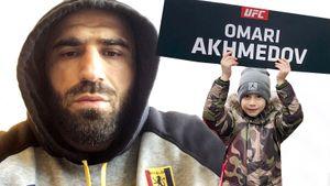 «Сын подходит и спрашивает: «Папа, ты проиграл?» Он дерется в UFC дольше Хабиба — ветеран из Дагестана Ахмедов