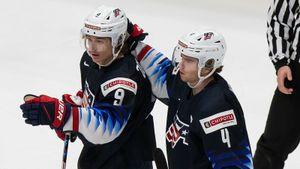 Америка решила судьбу России — в полуфинале МЧМ наших ждет Канада. США понервничали, но прошли Словакию