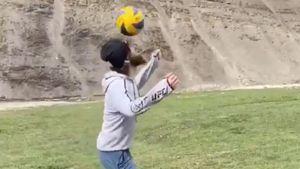 «Твой уровень максимум «Барселона». Хабиб оценил футбольные навыки Магомедшарипова