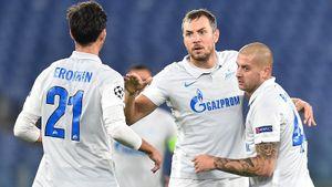 Дзюба ответил хейтерам и забил «Лацио» в Риме. Но «Зенит» все равно влетел без особых шансов