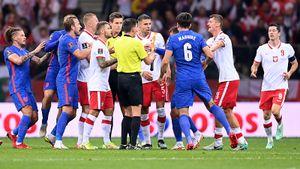 Польша в концовке вырвала ничью у Англии. Команда Саутгейта впервые потеряла очки в отборе ЧМ-2022