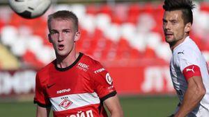 18-летний игрок «Спартака-2» Денисов пришел в сознание после удара мячом в горло в матче с «Чертаново»
