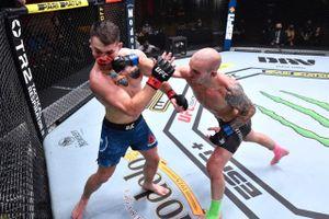 Русский боец из Гонконга ярко дебютировал в UFC. Палатников нанес 142 удара и оформил нокаут за 13 минут
