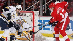 Легендарный гол русского хоккеиста Дацюка в США. Ему хватило 3 секунды, чтобы обмануть защитника и вратаря: видео