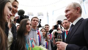 Как спортсмены поздравили Путина: Плющенко опередил Тутберидзе, Загитова выложила сторис, боксеры позвали Бузову
