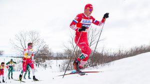 Вяльбе: «Большунов матерился с первого подъема, как и вся команда»