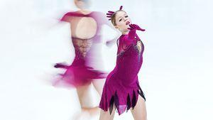 Платье как у Загитовой, дружба с Липницкой, тренировки по ночам. Интервью чемпионки Армении