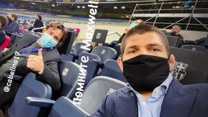 Хабиб съездил на Лигу чемпионов: забрал футболку Мбаппе и пошутил над защитником «Барселоны»