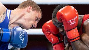 Боксер Бакши вышел в полуфинал олимпийского турнира в весовой категории до 75 кг