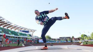 Американец Краузер побил мировой рекорд в толкании ядра, державшийся 31 год. Видео