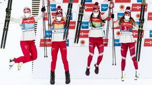 Бородавко о серебре в женской эстафете: «Мы рассчитывали на 100%, что будем в тройке, но настраивали и на победу»