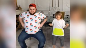 «У нас новый учитель танцев». Сын Плющенко и Рудковской станцевал с Пухляшом из Little Big: видео