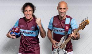 Английский клуб выпустит комплект формы сгруппой Iron Maiden