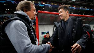 «Вэтом сезоне «Атлетико» еще иЛигу чемпионов выиграет». Семин рассыпался вкомплиментах Симеоне