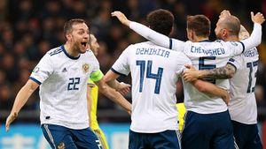 Россия — 46-я в рейтинге ФИФА. Мы делим это место с ДР Конго