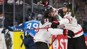 «Как разыграно!» Видео золотого гола Канады в финале чемпионата мира по хоккею