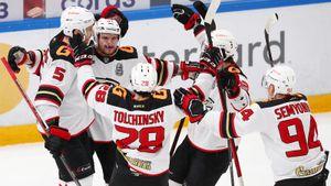 В финале КХЛ скучно не будет! «Авангард» на кураже вынес ЦСКА и повел в главной серии сезона