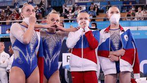 «В России самые красивые и лучшие девчонки». Лидия Иванова оценила триумф российских гимнасток на Олимпиаде в Токио