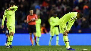 «Барсу» могут исключить из Кубка после матча с «Леванте». Как «Реал» из-за Черышева 3 года назад