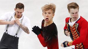 Русские фигуристы завалили инстаграм своими смешными фотками. Объясняем смысл нового челленджа