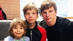 Аршавин встретился с детьми от Барановской. Впервые за пять лет