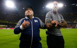 Марадону изолировали от его команды из-за опасений коронавируса